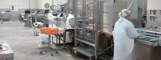 Goodman Fielder Bacon Slicing Factory